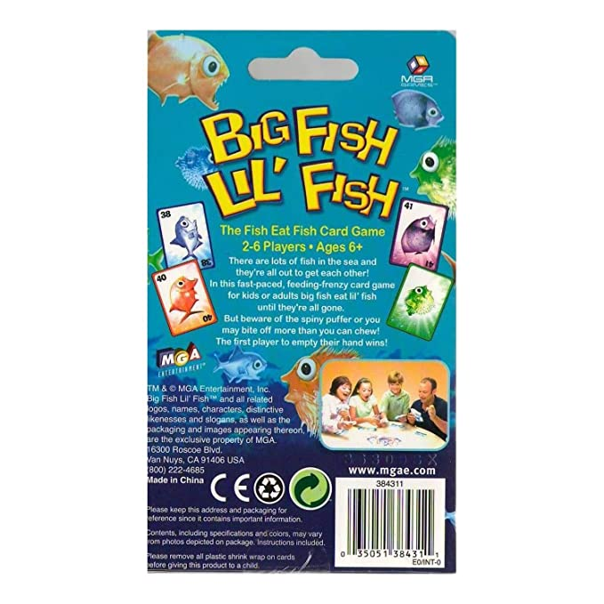 Somethin' fishy card game review   geeky hobbies.