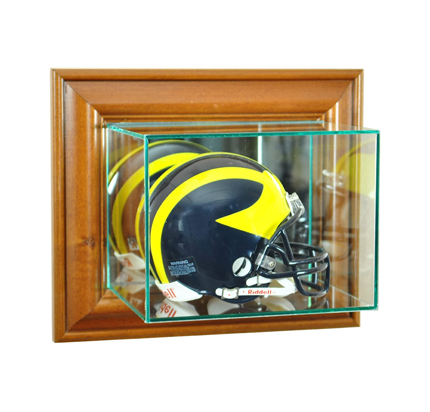 2bbc3c99 Perfect Cases NFL Wall Mounted Mini Helmet Glass Display Case