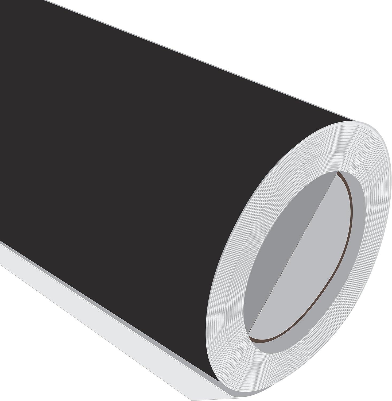 5 m (5 m) rollo de HD Negro Mate 610 mm de ancho Vinilo ...
