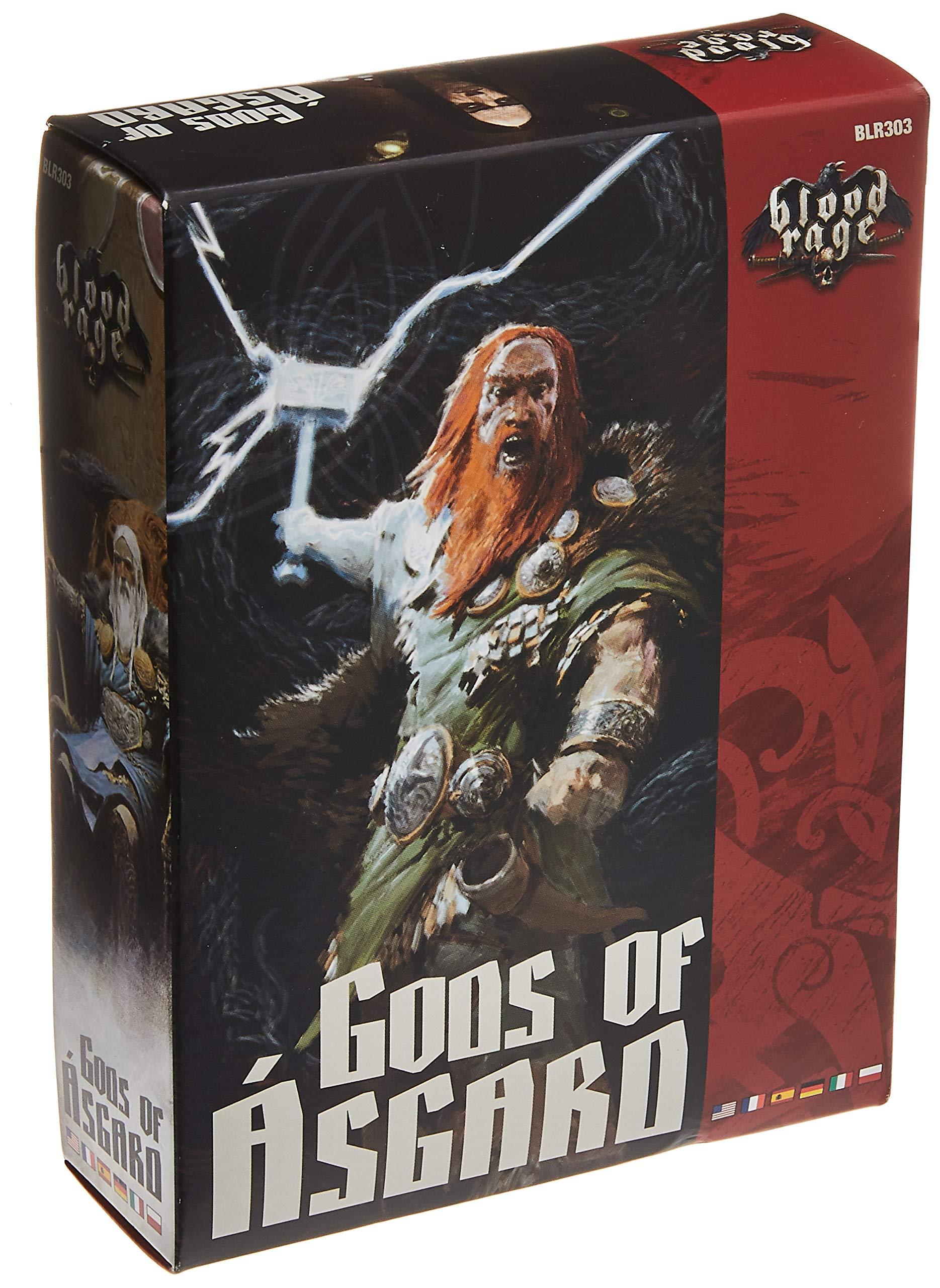 CMON BLR303 Blood Rage: Gods of Asgard, Multicoloured