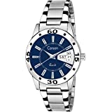 Carson Analogue Round Blue Dial Women's Watch - (8903554801852)