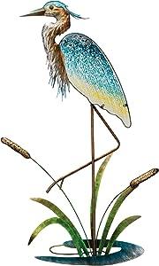 "Regal Art & Gift 11633 Heron 33"" Wall Decor, Blue"