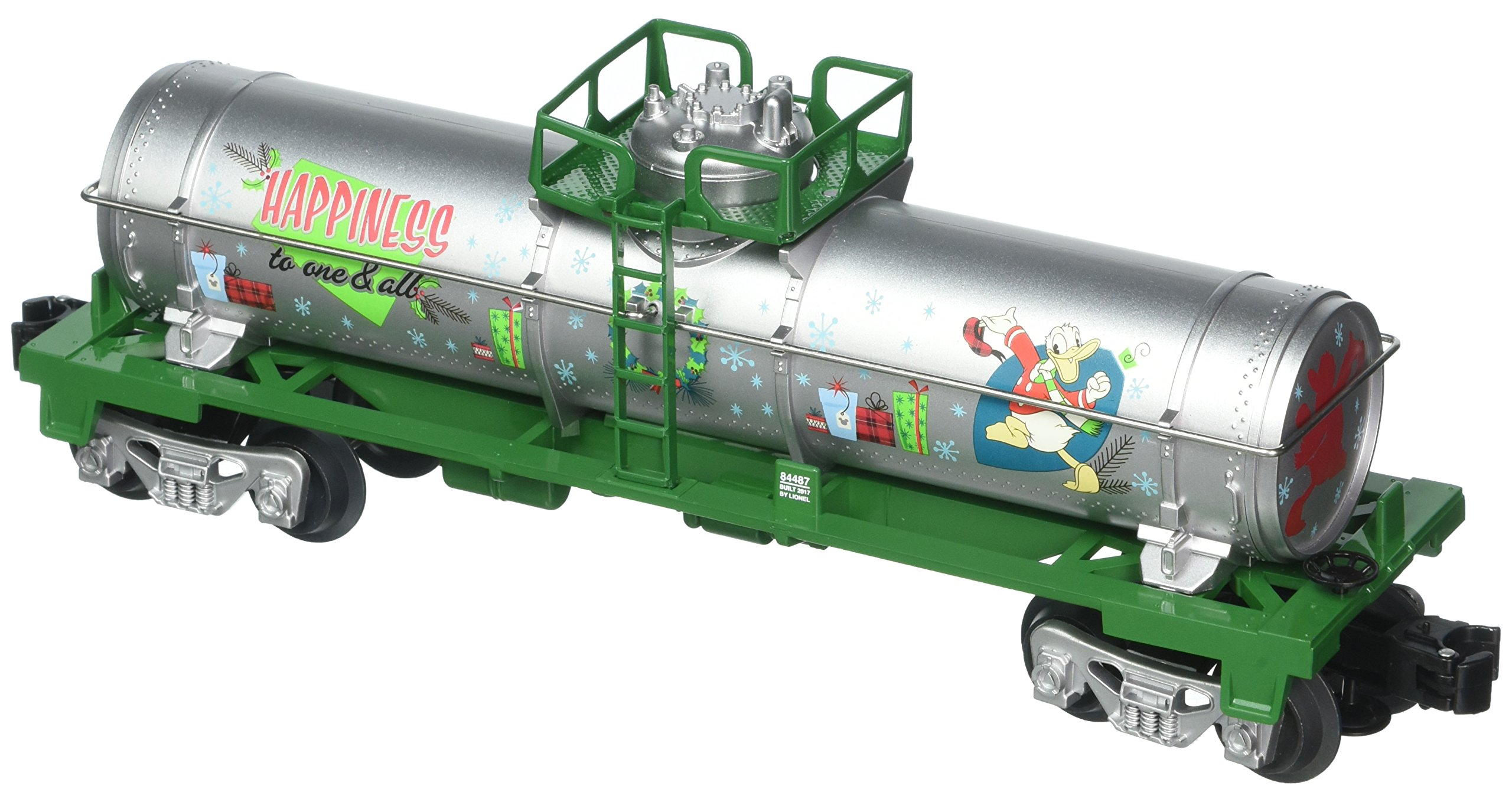 Lionel Donald Duck Holiday Tank Car Train