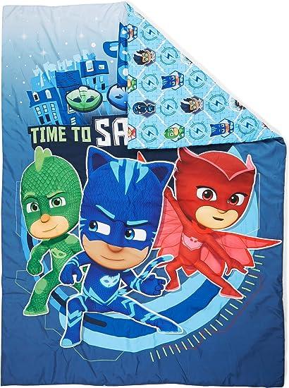PJ Masks Time to Save The Day - Edredón para cama infantil ...