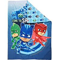 PJ Masks Time To Save The Day - Edredón para cama infantil, color azul