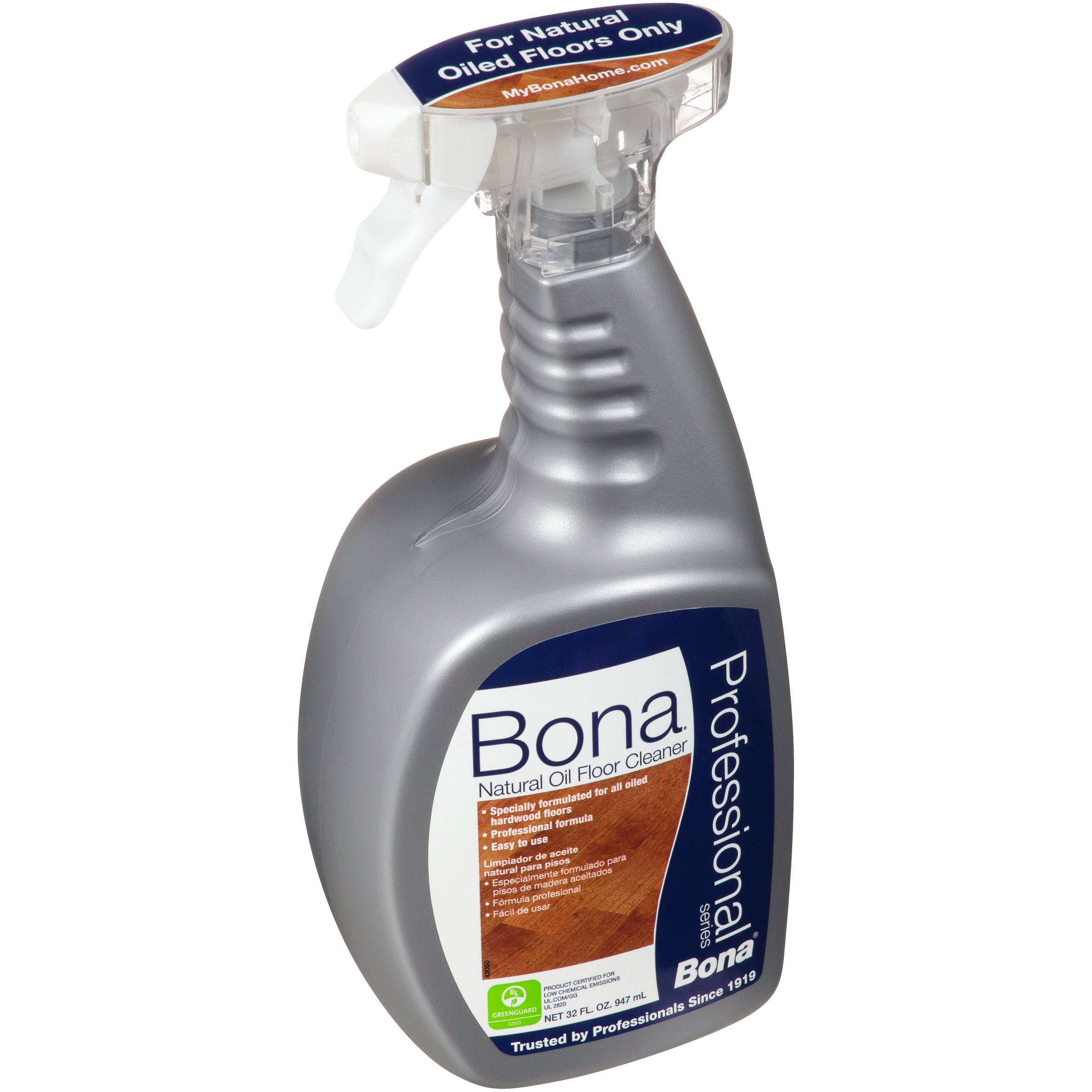 Bona BonaKemi USA WM701151001 Hardwood Floor Cleaner Natural Oil Floor Cleaner Pro 32oz by Bona (Image #2)