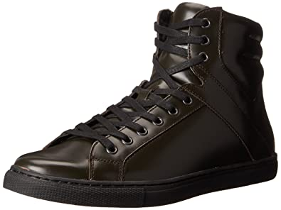 Kenneth Cole REACTION Men's Think I Can Fashion Sneaker, Black, ...
