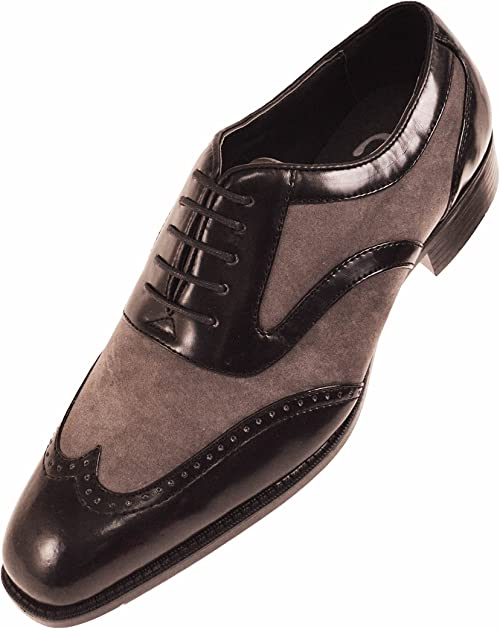 Amazon.com: Sio - Zapatos de vestir Oxford para hombre, de ...