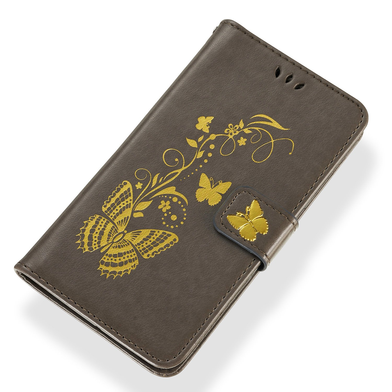 Blau Huawei P Smart H/ülle Huawei P Smart Handy H/ülle Gold Glitzer Schmetterling Huphant Schutzh/ülle Wallet Case H/ülle f/ür Huawei P Smart Kartenf/ächer Magnet Tasche Flip Cover Wallet Case