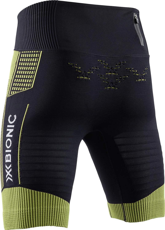 Pantaloncini da Corsa Uomo Black//Acid Green X-Bionic Effektor G2 Run M