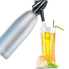 Innovee Soda Siphon – Ultimate Soda Maker - Aluminum – 1 Liter