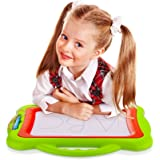 Magnetic Drawing Board for Sketching – Toys for baby / kids - Erasable Colorful Magna Doodle Pad
