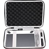 LTGEM Case for Wacom Intuos Draw/Art /Comic/Photo 490 Series Small Size Digital Drawing and Graphics Tablet-Black with Mesh Pocket.