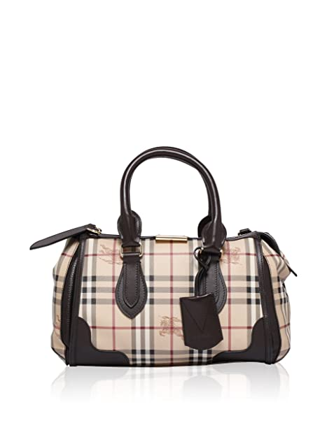 30fb90dcecfa Burberry Gladstone Tote Bag 3870759 Chocolate  Amazon.ca  Shoes ...