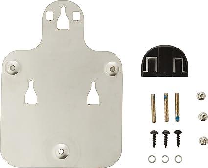 SHAD X011PS Platina Pin System Fijaci/ón Bolsas Dep/ósito Motos Ducati y Yamaha Negro 0.65800000000000003