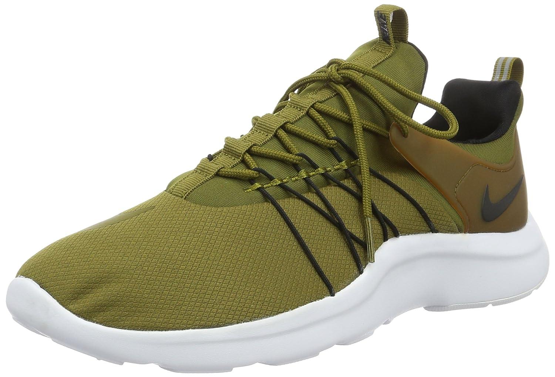 Nike Herren Darwin Laufschuhe  49.5 EU|Gr眉n (Olive Flak/Olive Flak-black)