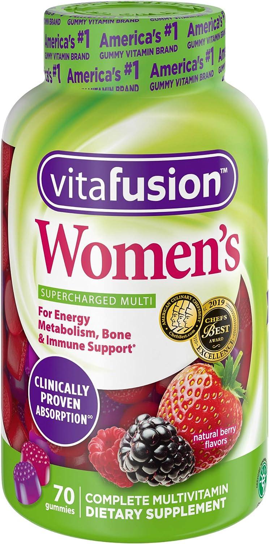 Vitafusion Womens Gummy Vitamins, 70 count