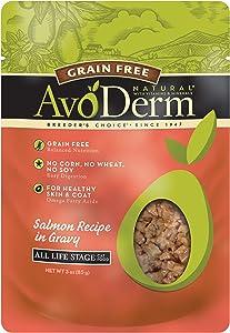 AvoDerm Grain Free Salmon Wet Cat Food, Case of 24