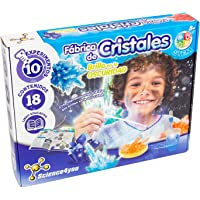 Science4you-Fábrica de Cristales, Brilla en la Oscuridad, Multicolor