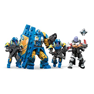 Mega Construx Destiny Goliath Tank Strike Building Set: Toys & Games