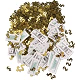 Big Bucks Print-Fetti Party Accessory (1 count) (.5 Oz/Pkg)