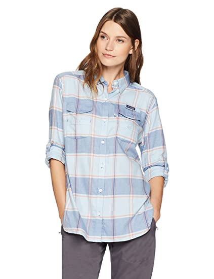 c99c42c5297 Columbia Bonehead Women s Flannel Long Sleeve Shirt