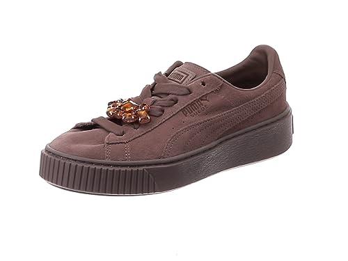 Puma Damen Suede Platform Gem WN's Sneaker