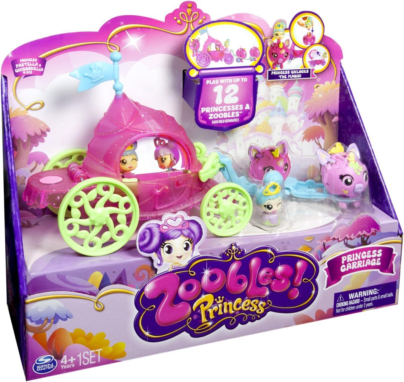 Zoobles Princess carriage Mini Play Set