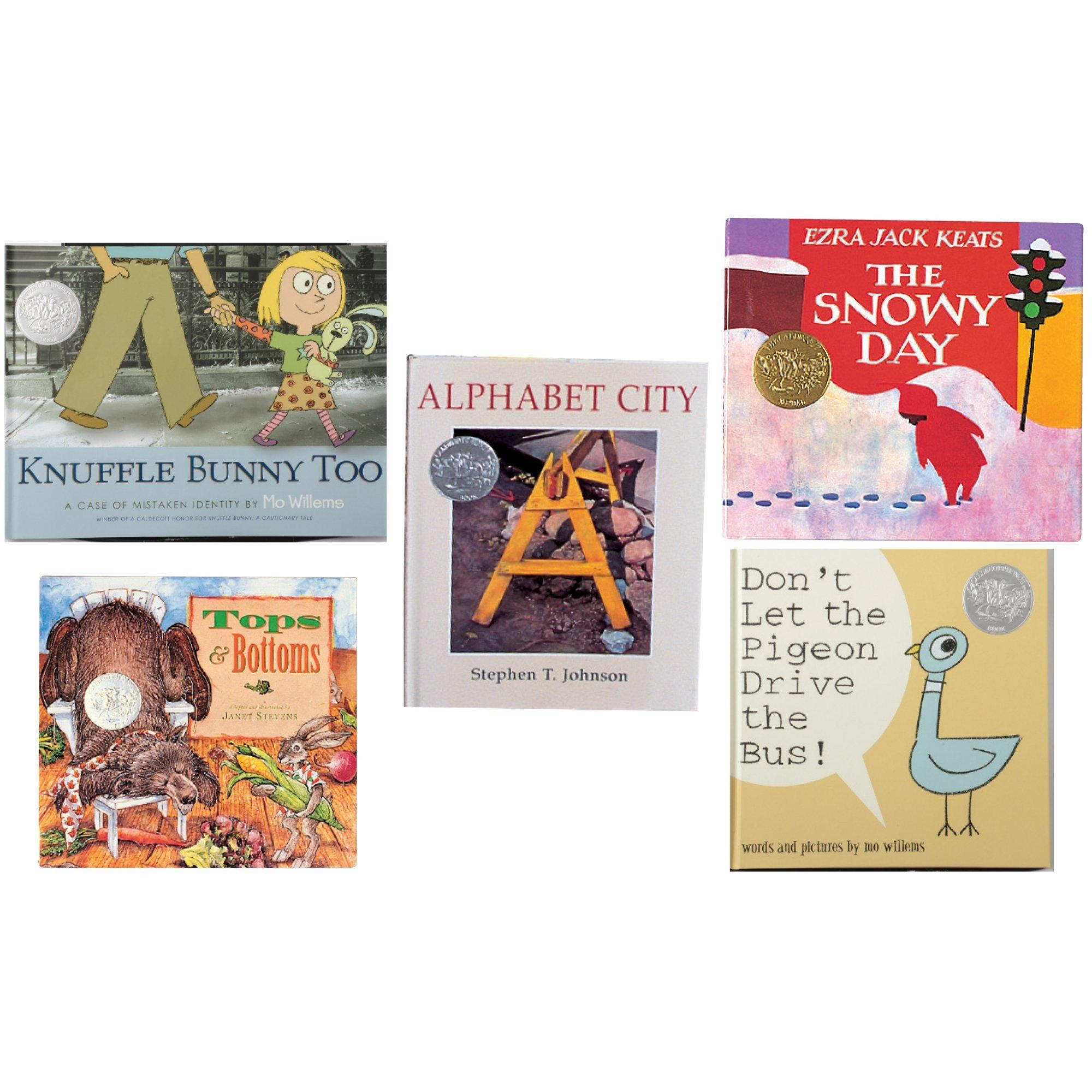 Constructive Playthings BOK-108 Caldecott Medal Books of 5 Hardcover Titles, Grade: Kindergarten to 3, Set of 2