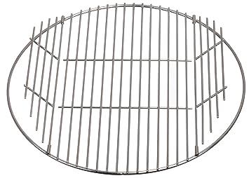 Parrilla de acero inoxidable para barbacoa, para las principales marcas de 47 cm de diámetro