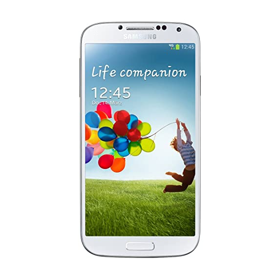 Samsung Galaxy S4 I337 16GB 4G LTE Unlocked GSM Smartphone - White (Renewed)