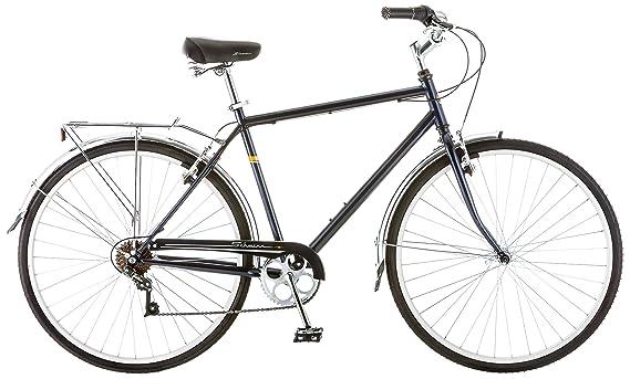 Schwinn Men's Wayfare Hybrid Bike, Blue best touring bikes