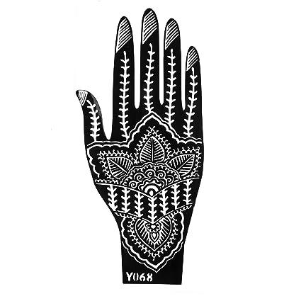 Plantillas de Mehndi tatuaje de la mano de Mehndi Tatuajes de ...