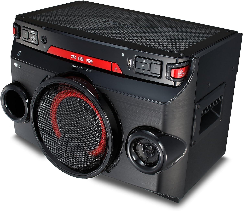 Lg Ok45 High Power Hifi System Mit Cd Radio Und Usb Elektronik