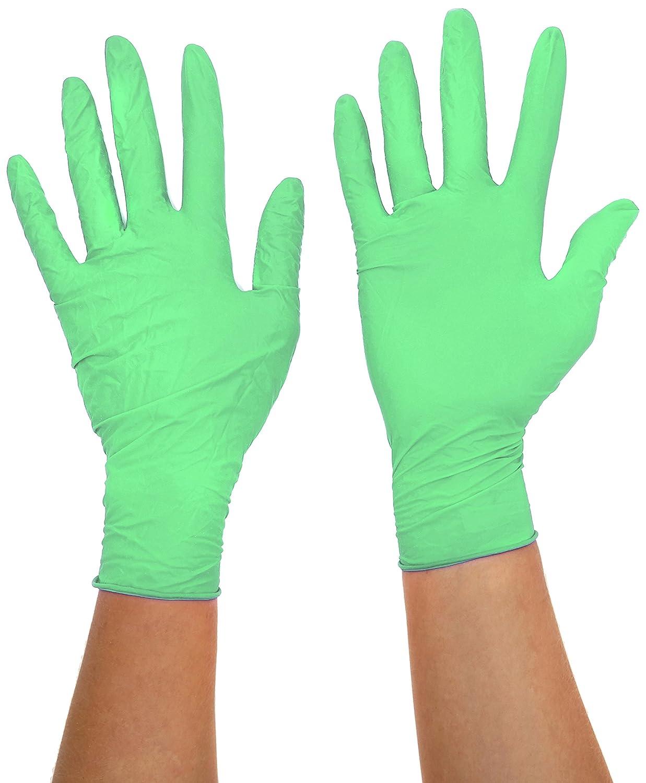 Evergrade 0256 - Vinilo verde sin polvo, tamañ o mediano (caja 100) tamaño mediano (caja 100) Prossor 0256 MED