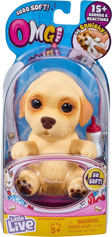 Little Live Pets Etiqueta para Mascotas 28920 OMG, Color Azul