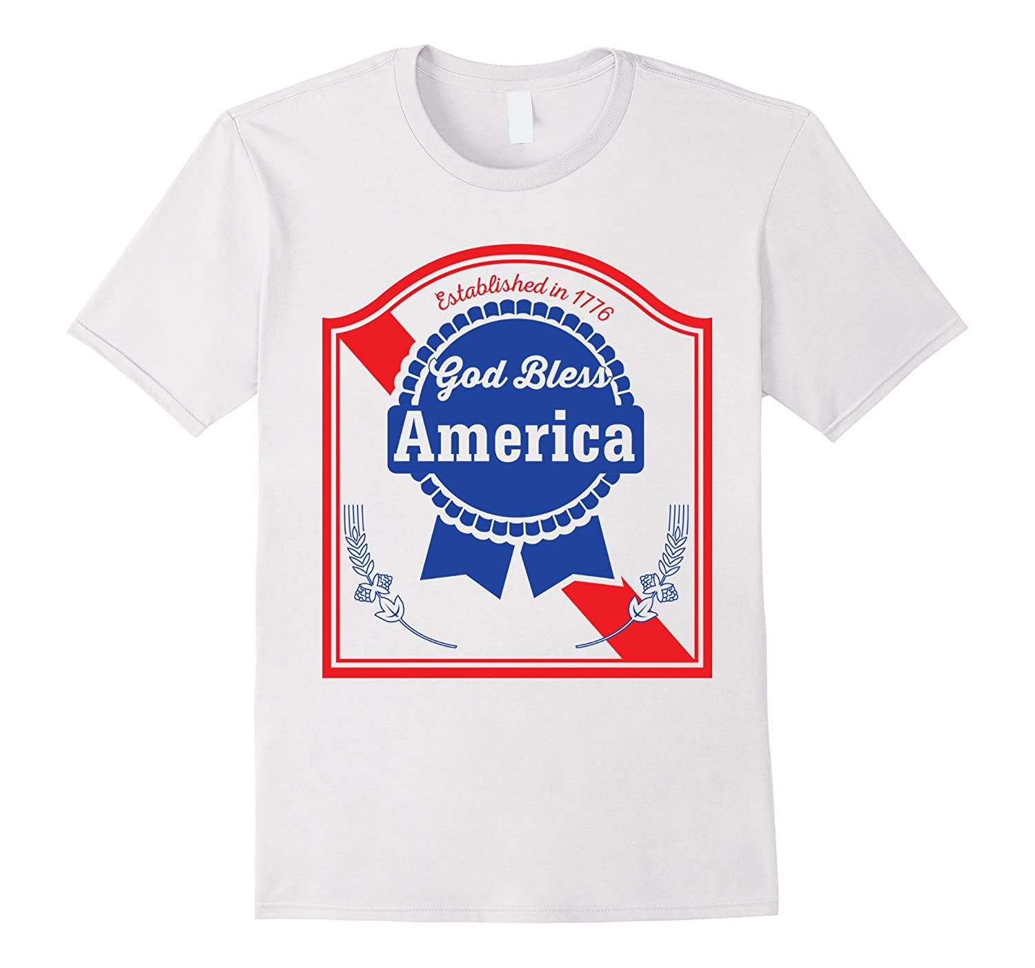 Funny 4th of July T-Shirt for Beer Lovers