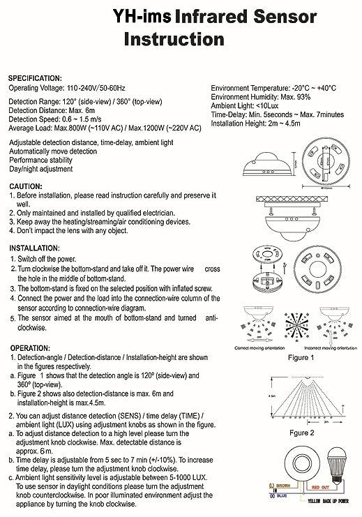 ITTA High Sensitivety 360 degree 110V 220V AC 1200W Automatic ... Typical Wiring Diagram Light Switch V Ac on typical 3-way switch diagram, 2 switches 1 light wiring diagram, lan network wiring diagram, two-way light switch diagram, 220 switch diagram, two light wiring diagram, switched outlet wiring diagram, light fixture outlet diagram, 220v wiring in houses, 220v wiring-diagram lighting system,