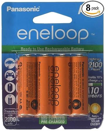 Amazon.com: Paquete de baterías Panasonic Eneloop AA ...