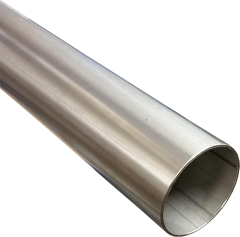 Edelstahlrohr /Ø 70 mm x 500 mm V2A Auspuffrohr Edelstahl Rohr 1.4301 0,5m