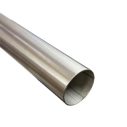 Tubo de acero inoxidable diámetro 35 mm x 1000 mm (1 m) V2 A ...