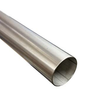 Tubo de acero inoxidable 60 mm de diámetro x 500 mm (0,5 m ...