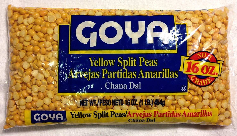 GOYA Dried Lentils, Pinto Beans, Yellow Split Peas & Green Split Peas - Variety Pack - 16oz Each 1 Lb Bag (4 Pack) Split Pea or Lentil Soup - Refried Beans - Recipes on Bag, Dip, Healthy Protein by Goya (Image #3)