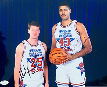 4f99c6c239957 Mark Price Brad Daugherty Cleveland Cavs (1992 All Star) Signed ...