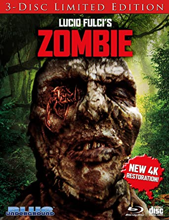Amazoncom Zombie Cover C Worms Blu Ray Tisa Farrow Lucio