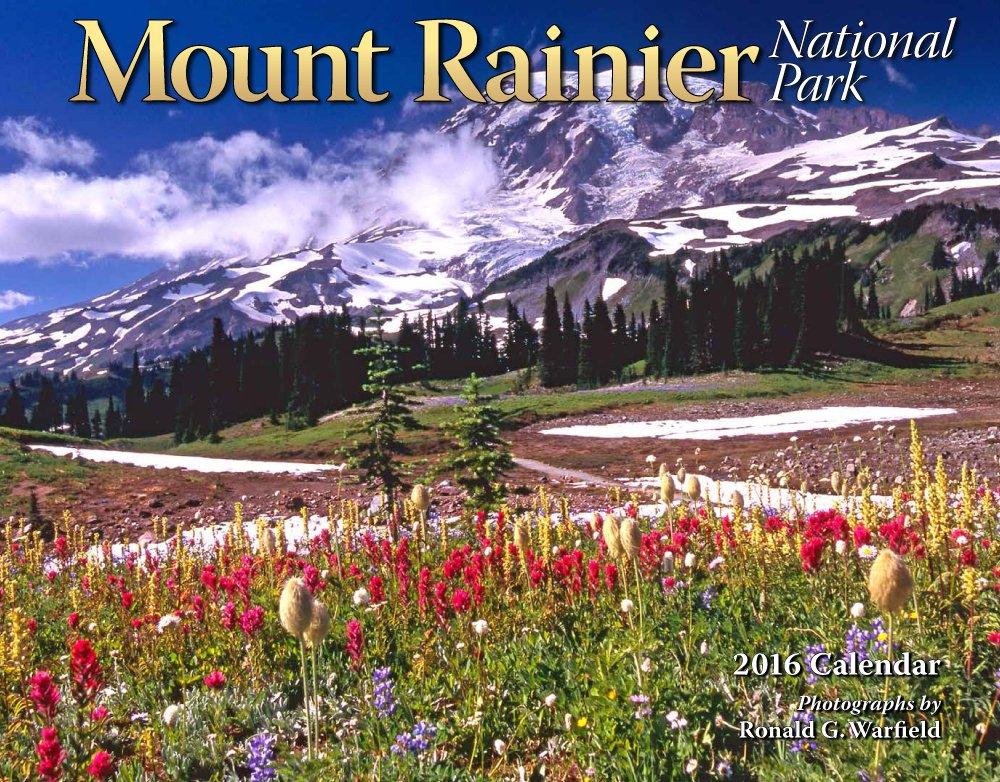 Download Mount Rainier National Park 2016 Calendar 11x14 PDF