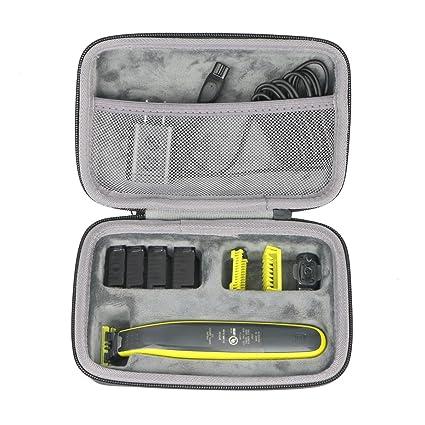Duro Viajar Caso Cubrir para Philips QP2520 30 OneBlade Recortador de barba  por co2CREA … 6dbe4a2839aa