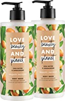Love Beauty And Planet Majestic Moisture Body Wash Shea Butter & Sandalwood, Vegan, Paraben Free, and Sulfate Free, 16...