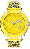 Marc Ecko Men's The Tran Yellow Dial Watch E09530G7 and a Yellow Silicone Strap