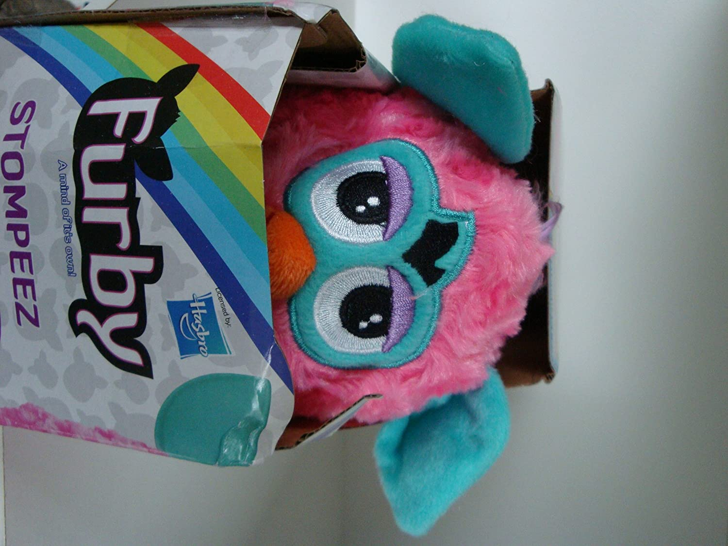 Stompeez Pink Furby Slippers - Size XS.